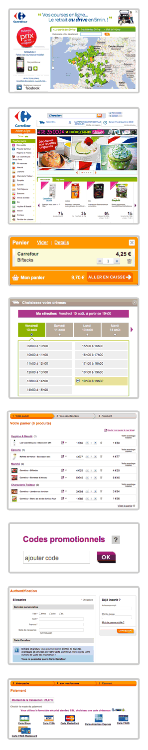 Coupons de reductions courses carrefour